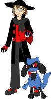 Me as a Pokemon Trainer for some reason by sonamy-666