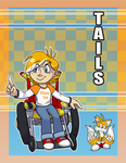 Human!Tails by SimonSoys