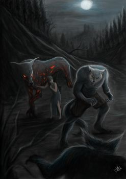 lycanthrope by grimmreaper60