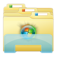 Folder Win 7 Logo by XceNiK