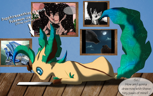 Sapphiresenthiss As A Leafeon XD