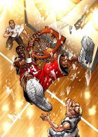 CBS basketball by deemonproductions