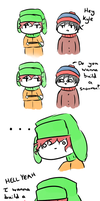 Do you wanna build a Snowman? - South Park by MarshieMello-Cookies