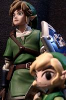 Link and Link by IamSare