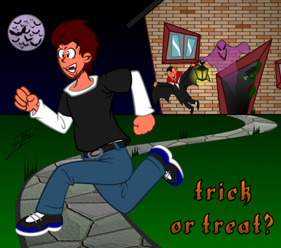 Trick or Treat? by IBIOo