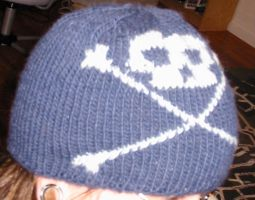 Skully Cap by PinkSweaterVest