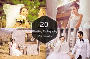 20 Wedding Photography Pro Presets by symufa