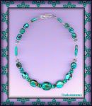 HUBEI TURQUOISE NECKLACE by Voodoomamma