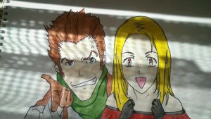 Isaac and Miria (Baccano) by Dina27