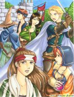 Final Fantasy Tactics by Saehral