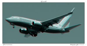 plane 3d by yellowcaseartist
