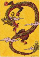 Chinese Dragon by SylverTrinity