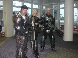 Megacon '08- Gears of War by TechnicolorThinking