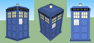 3D TARDIS by Peeka13