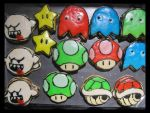 2012 Edition Nintendo Sugar Cookies by Leara