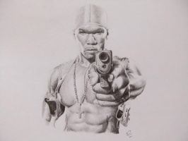 50 Cent by PatrickRyant