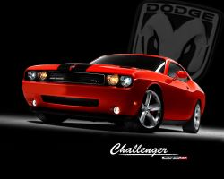 Dodge Challenger SRT8 by Halvar