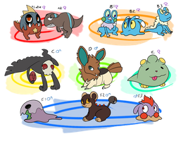 [CLOSED] PKMNation: Little clutches by Featherkissed