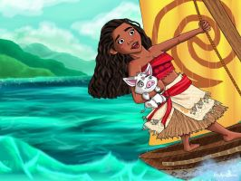 Moana by Pridipdiyoren