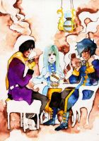 Tea Time Friendship by faQy