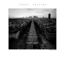 paris skyline 2 by chavezding
