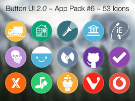 Button UI 2.0 ~ App Pack #6 by BlackVariant