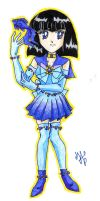 SMOCT chibies -Sailor Glacium- by nephrite-butterfly