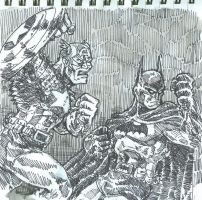 free sketch tag 2-3 CAP BAT by chachaman