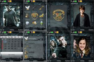 Harry Potter Nokia s40 Theme by Aquafeya