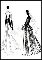 Fashion Design - evening gown by ELRO66