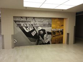 Large Printed Canvas by signcrafter
