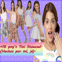 Tini Stoessel Png's .zip by PaoBelieberBabe