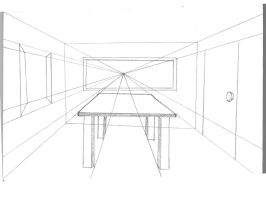 One Point Perspective by Ansley-Rose