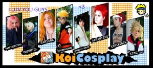Koi Cosplay by jt0002
