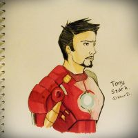 Iron Man by AyanamiHound