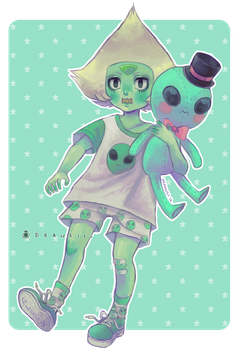 Alien Fashion [+SPEEDPAINT] by DrawKill