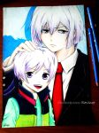 I and my younger Brother - Hamatora by revinee