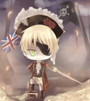 Chibi: British Empire! by Elvenrain