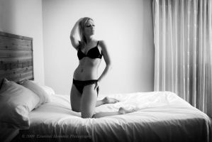 Christalle on the Bed II by inessentialstuff