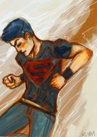 YJ Superboy by Ospreyghost13