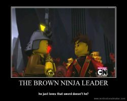 Brown Ninja Leader! by ChibiCinnamonRoll