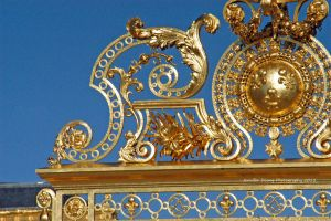 Gates of Versailles Detail by MorrighanGW
