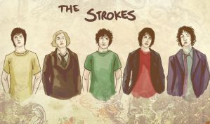 the Strokes by Paups