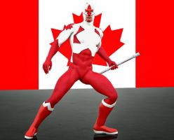 captain canuck 2nd skin textures for  M4 by hiram67