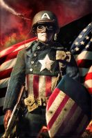 Captain America by neorillaz