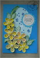 Quilling - yellow flowers by Eti-chan