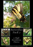 Butterflies Pack 2 by Sammykaye1sStamps