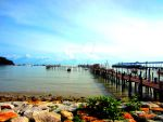 jetty at penang by limegreenguitar