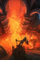 Fire Caves IV - concept by ANTIFAN-REAL