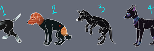 Space Dogs Auction OPEN by kaleidoscopial
